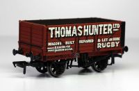 Bachmann 37-2009K 7 Plank End Door Wagon 'Thomas Hunter Ltd'