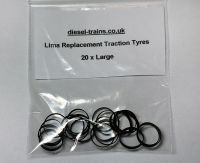 Lima Replacement Traction Tyres (Large).
