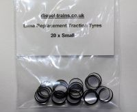 Lima Replacement Traction Tyres (Small).